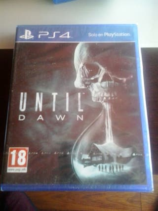 Until Dawn para la consola ps4