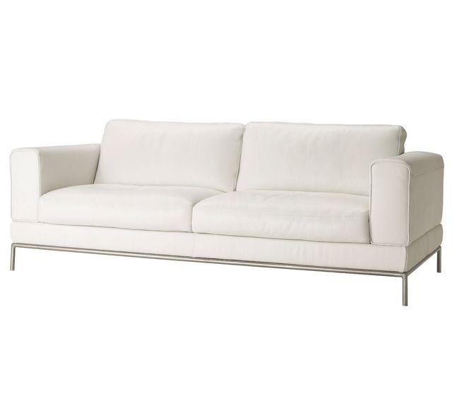 Sofa Cuero Ikea.Sofa De Cuero Ikea De Segunda Mano Por 275 En Madrid En