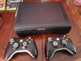 Xbox 360 elite 2 mandos + juegos