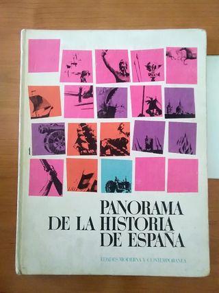 Álbum cromos Panorama de la Historia de España.