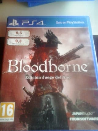 Bloodborne para la consola ps4 game of the year