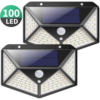 TODO NUEVO-50% Foco Solar Exterior 100 led 2 Undes