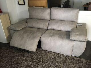 Sofa tres plazas relax