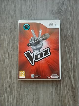 Juego Wii La Voz
