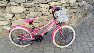 Bici niña con velocidades hasta 8 años