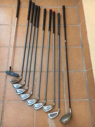 Palos golf zurdo +bolsa