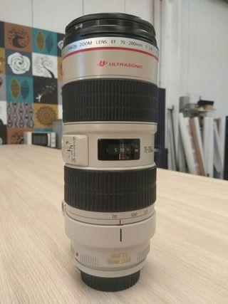 Objetivo 70,200 f2.8 Canon