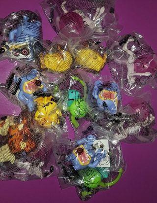 Figuras colección detective Pikachu