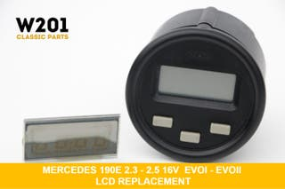 LCD Reloj Cronometro Mercedes w201 190 16v