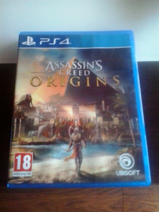 Assassins Creed Origins para la consola ps4