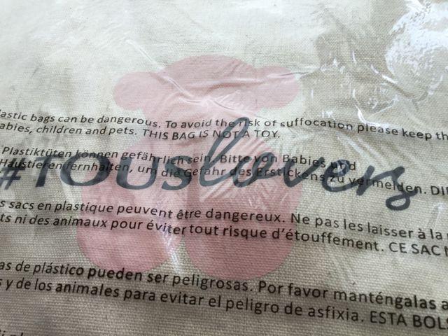 TOUS: BOLSA DE TELA NUEVA