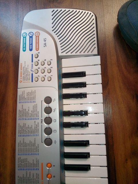 organo/piano casio
