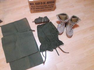 material militar vario