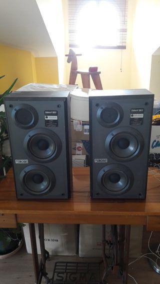 2 altavoces vintage bose