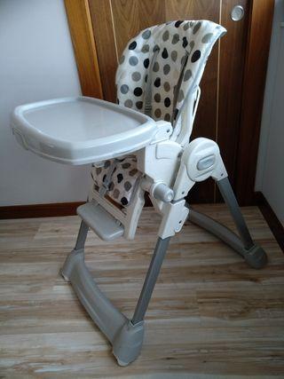 Regulable en 6 alturas Trona Luna Plegable para beb/és de 6 a 36 meses Ultraligera