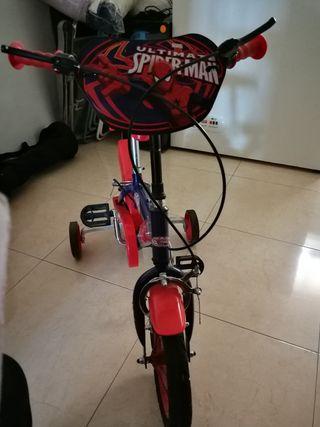 Bici niño Spider-Man