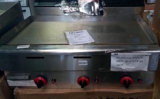 Plancha gas snack acero 90x60 cm