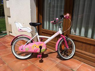 Bicicleta infantil niña