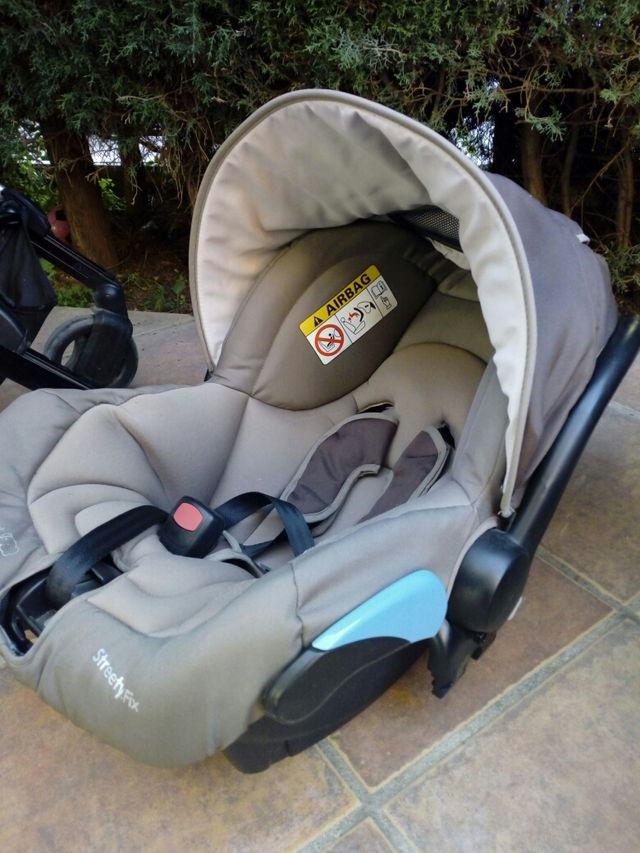 Carro de bebe con Maxicosi y Cuco