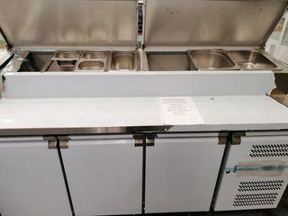 Bajo mostrador pizzero-ensaladas 180x70x109 cm