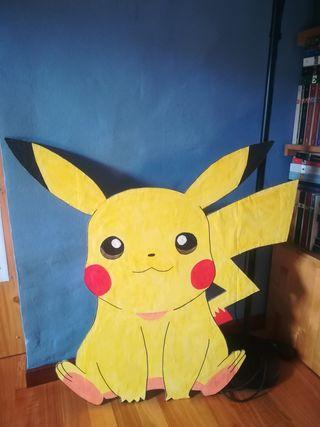Silueta Pokémon Pikachu decoración