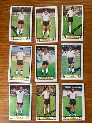 Cromos futbol. 79/80