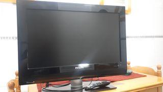 """Televisión Philips 26""""."""