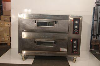 Horno 4+4 pizzas eléctrico 30 cm