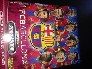 Album de cromos fc barcelona 07 08