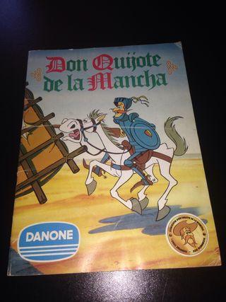 Album de cromos don quijote