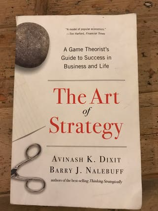 Book- the art of strategy