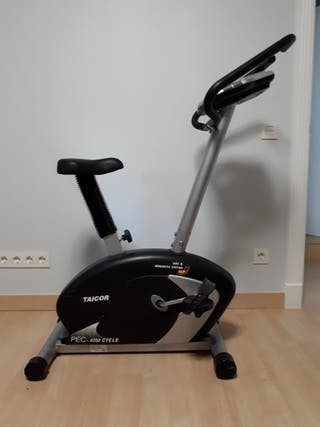Bicicleta estática con ordenador