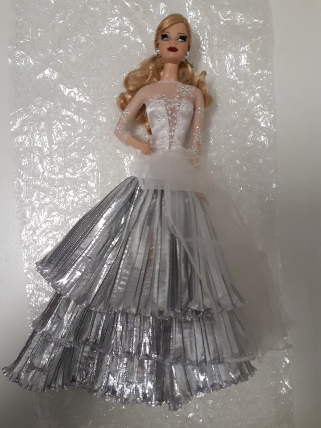 2008 Holiday Barbie.