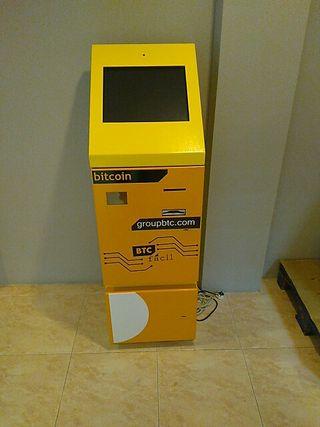 Cajero bitcoin BTCfácil modelo A01