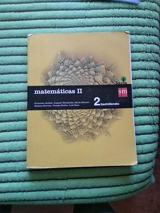 Matemáticas II Segundo De Bachillerato SM
