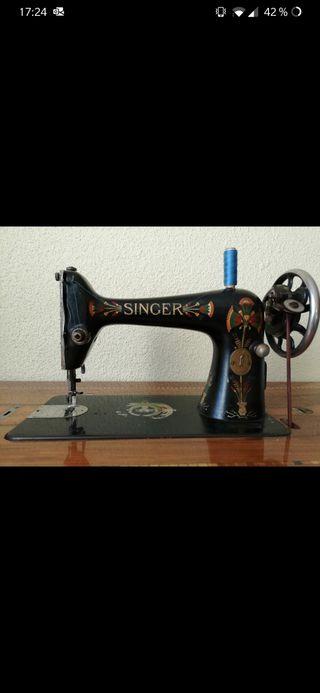 Máquina de coser Singer Flor de Loto