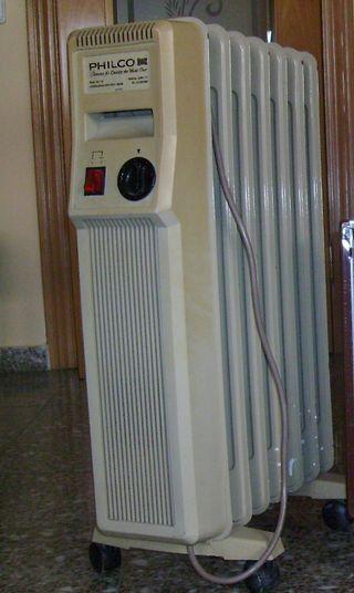 Radiador estufa eléctrica 1000 W