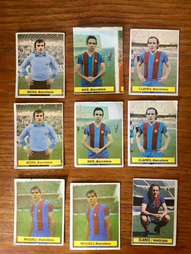 Cromos futbol, 73/74. 74/75. 78/79. 79/80