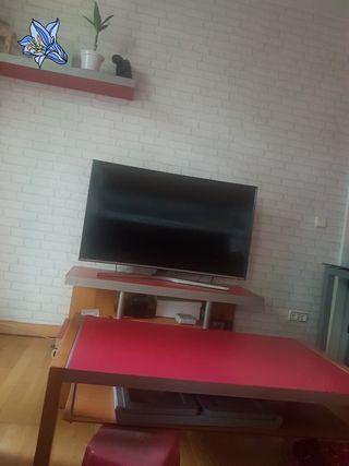 vendo mueble tv, mesa y balda