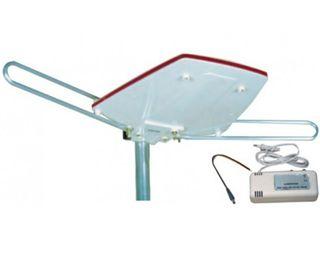 Antena con amplificador