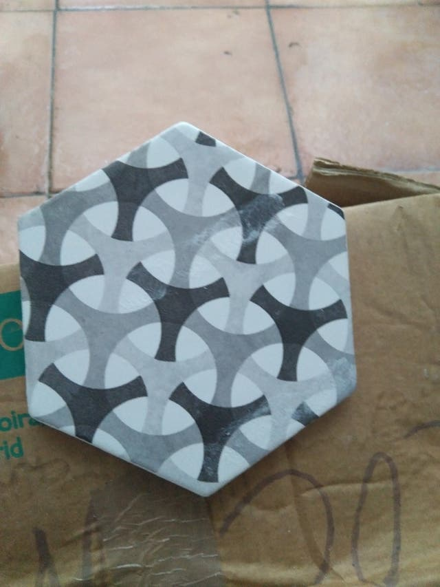 baldosa hexagonal