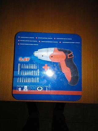 atornillador de bateria