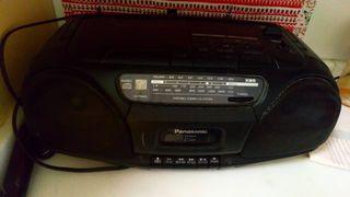 Radio caset con CD