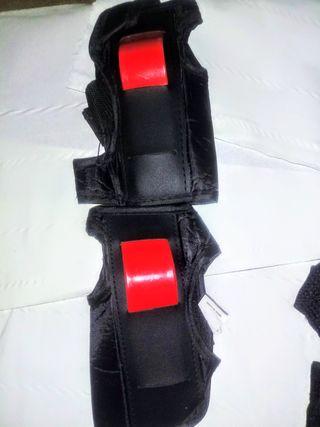 Protecciones patines, bici minimoto, bmx,