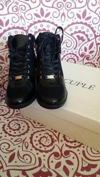 Zapatillas botines cuple