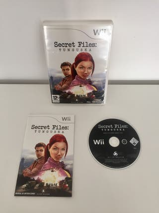 SECRET FILES TUNGUSUKA wii