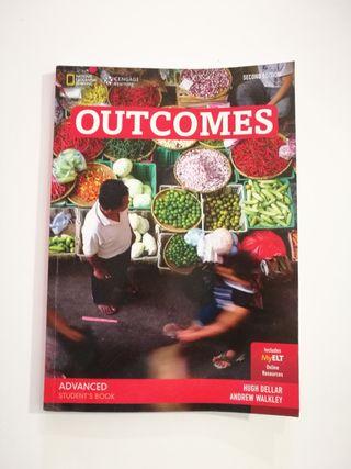 Libro de inglés Outcomes Advanced Students Book