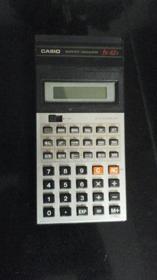 calculadora cientifica casio vintage