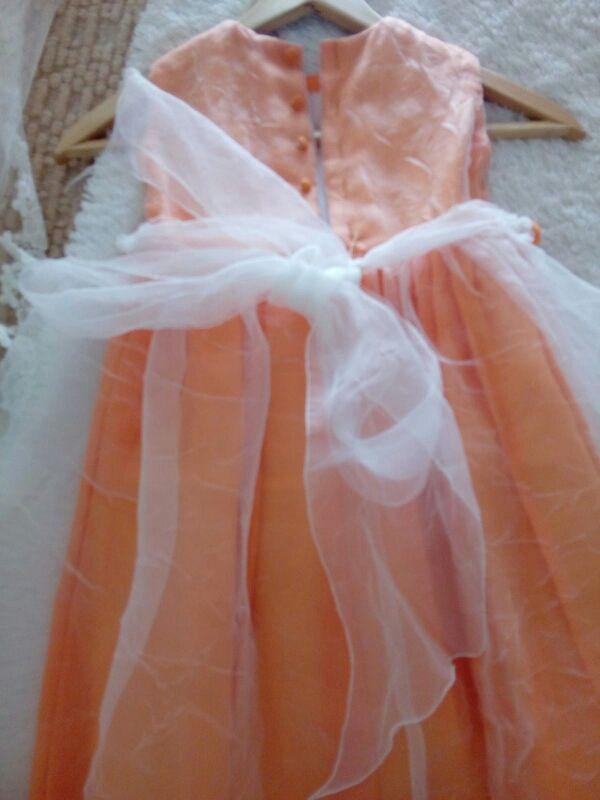vestido ceremonia nina talla 4 regalo chaqueta