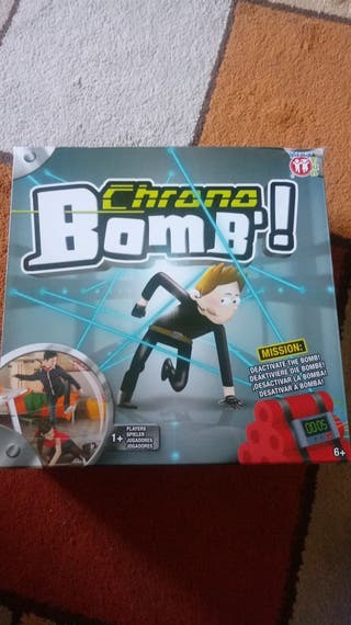 Juego de crono Boom nuevo sin estrenar